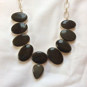 New Black Jasper necklace